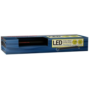 We have a colorful selection of white and blue LED aquarium lighting systems for your tank.