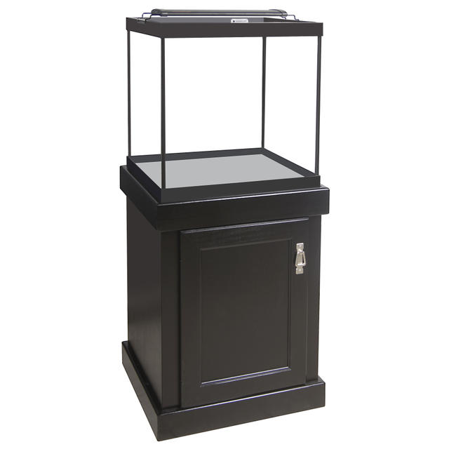 Aquarium stand not square fish tanks on pinterest for Small fish tank stand