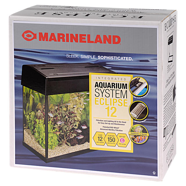 Eclipse 12 Glass Aquarium Kit
