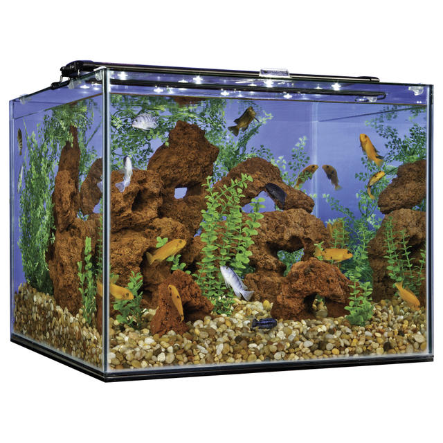 Fish Aquarium Glass Simple Coffee Table Fish Tank